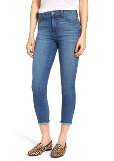 PARKER SMITH Bombshell Raw Hem Stretch Skinny Jeans (Dawn)