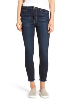 PARKER SMITH Bombshell Raw Hem Stretch Skinny Jeans (Horizon)