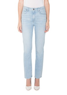 Parker Smith Bombshell Runaround High-Rise Straight Jeans