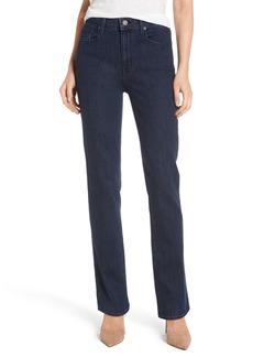 PARKER SMITH Bombshell Runaround Straight Leg Jeans (Baltic)