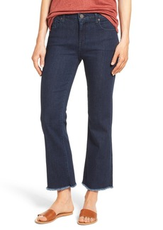 PARKER SMITH Brynna Crop Flare Jeans (Baltic)