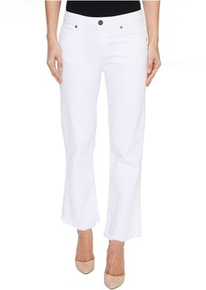 Parker Smith Brynna Cropped Flare in Blanc