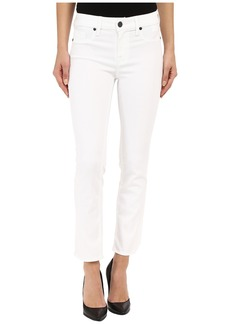 Parker Smith Courtney Cuffed Crop Jeans in Eternal White
