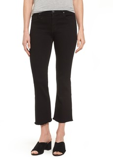 PARKER SMITH Cropped Flare Jeans (Stallion)