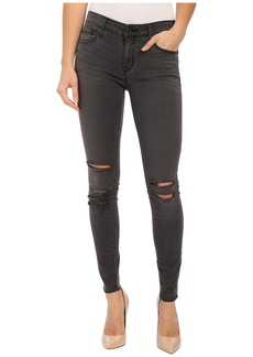 Parker Smith Kam Skinny Jeans in Pewter Destroy