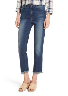 PARKER SMITH Pin-Up Crop Straight Leg Jeans (Captain)