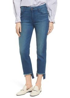 PARKER SMITH Pin-Up Straight Leg Crop Jeans (Island)