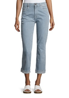 Parker Smith Pin Up Straight-Leg Jeans
