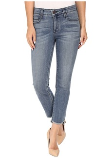 Parker Smith Shark Bite Straight Crop Jeans in Nile