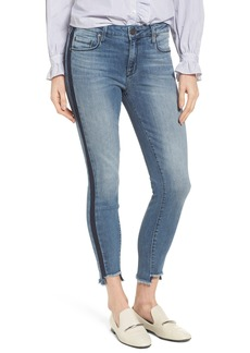 Parker Smith Twisted Seam Skinny Jeans (Ocean Side)