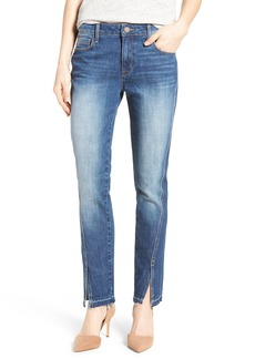 PARKER SMITH Vented Seam Straight Leg Jeans (Clean Runway)