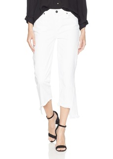 Parker Smith Women's Cropped Mini Flare in