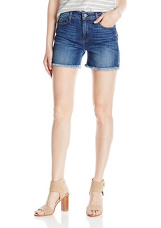 Parker Smith Women's High Rise Fray Denim Short
