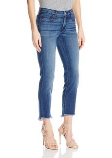 Parker Smith Women's Shark Bite Straight Crop Jeans