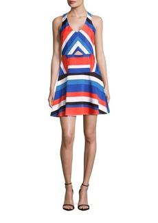 Parker Striped Sleeveless Dress