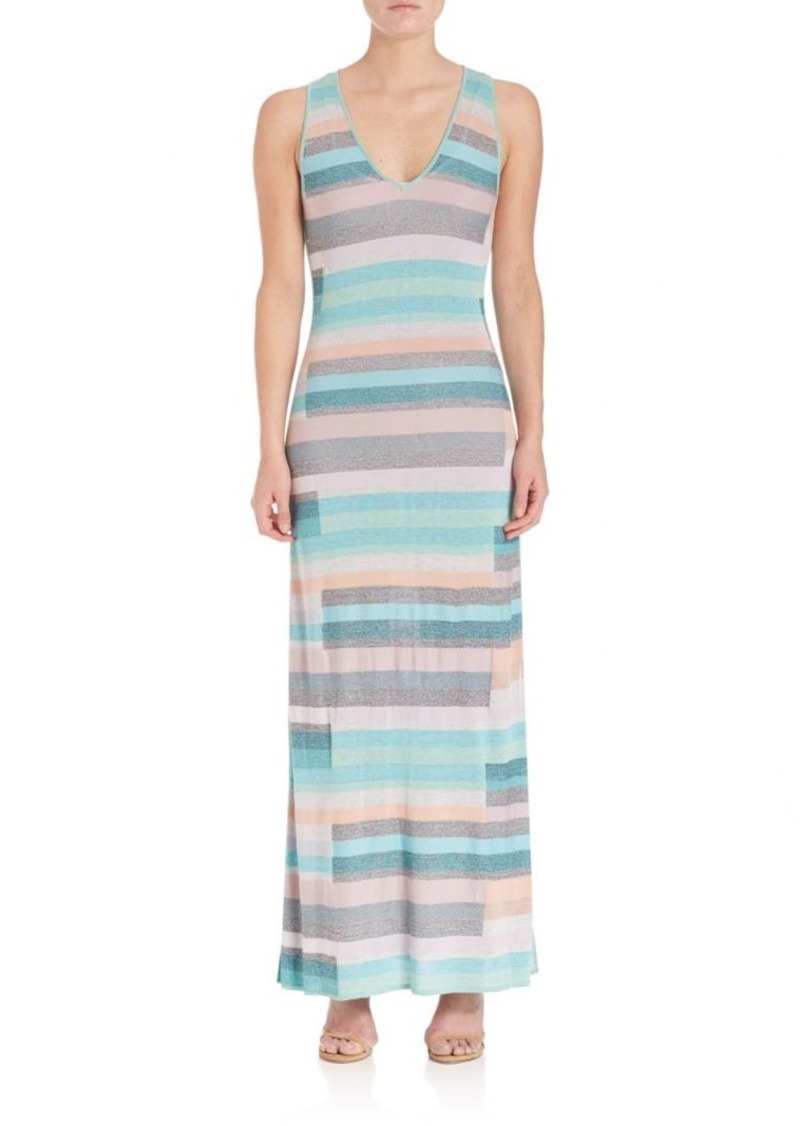 Parker Sia Striped Maxi Dress