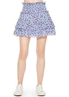Parker Sugar Ruffle Miniskirt