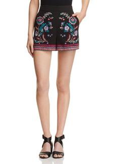 Parker Tatum Embroidered Shorts
