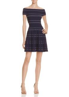 Parker Tricia Off-the-Shoulder Knit Dress