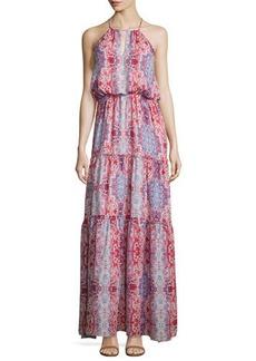 Parker Tudor Sleeveless Tiered Maxi Dress