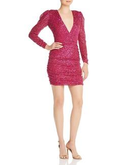 Parker V-Neck Sequined Dress - 100% Exclusive