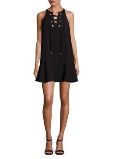 Parker Viera Lace-Up Dress