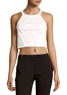 Parker Voyage Solid Cropped Top