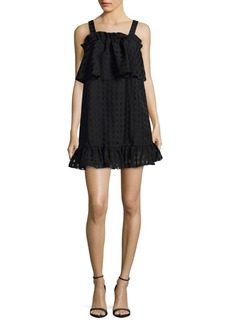Parker Windowpane Mini Dress