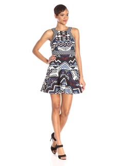 Parker Women's Andover Fit and Flare Jacquard Dress