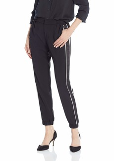 Parker Women's Bermuda Combo Ankle Length Side Stripe Pant