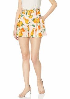 Parker Women's Carlo Belted Waist Linen Short