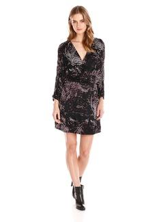 Parker Women's Catalina Paisley Printed Faux Wrap Dress