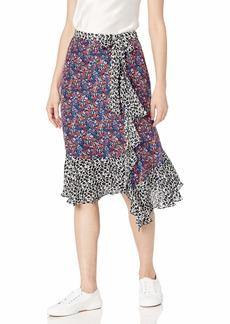 Parker Women's Collins Wrap Front Midi Skirt