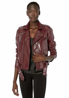 Parker Women's Cooper Belted Moto Jacket  XL