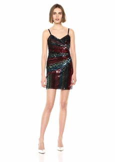 Parker Women's Emmaline Asymmetric Embellished Cocktail Dress