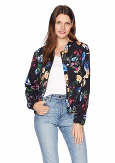 Parker Women's Gabe Long Sleeve Bomber Jacket  S