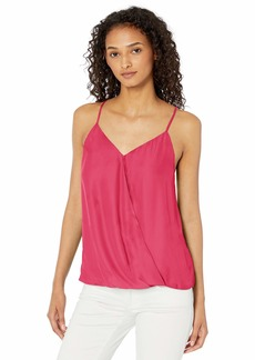 Parker Women's Harlow Sleeveless Wrap Front Top  M