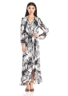 Parker Women's July Long Sleeve Cross Over Maxi Dress