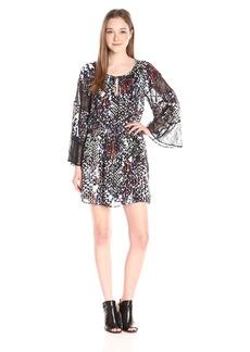 Parker Women's Kata Lace Combo Bell Sleeve Dress