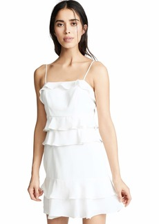 Parker Women's Kristie Combo Dress  Off White White