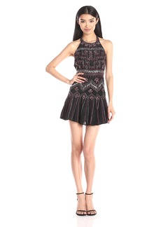 Parker Women's Leona Beaded Halter Dress