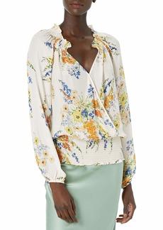 Parker Women's Long Sleeve Top Sherra Blouse  L