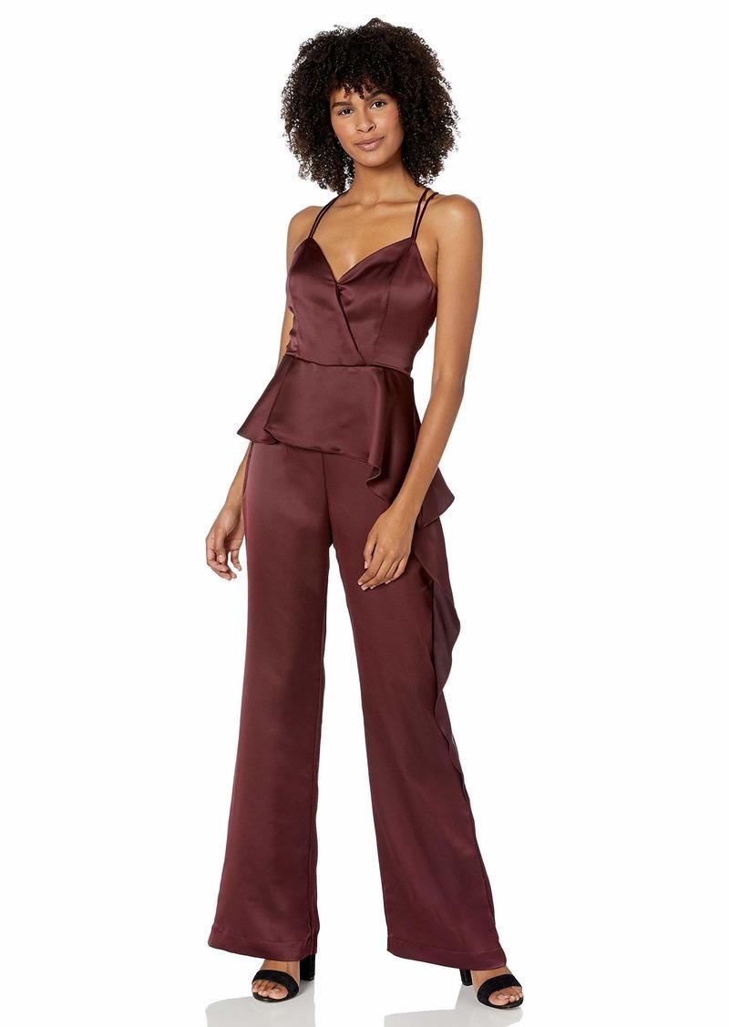 Parker Women's Lucille V-Neck Peplum Jumpsuit