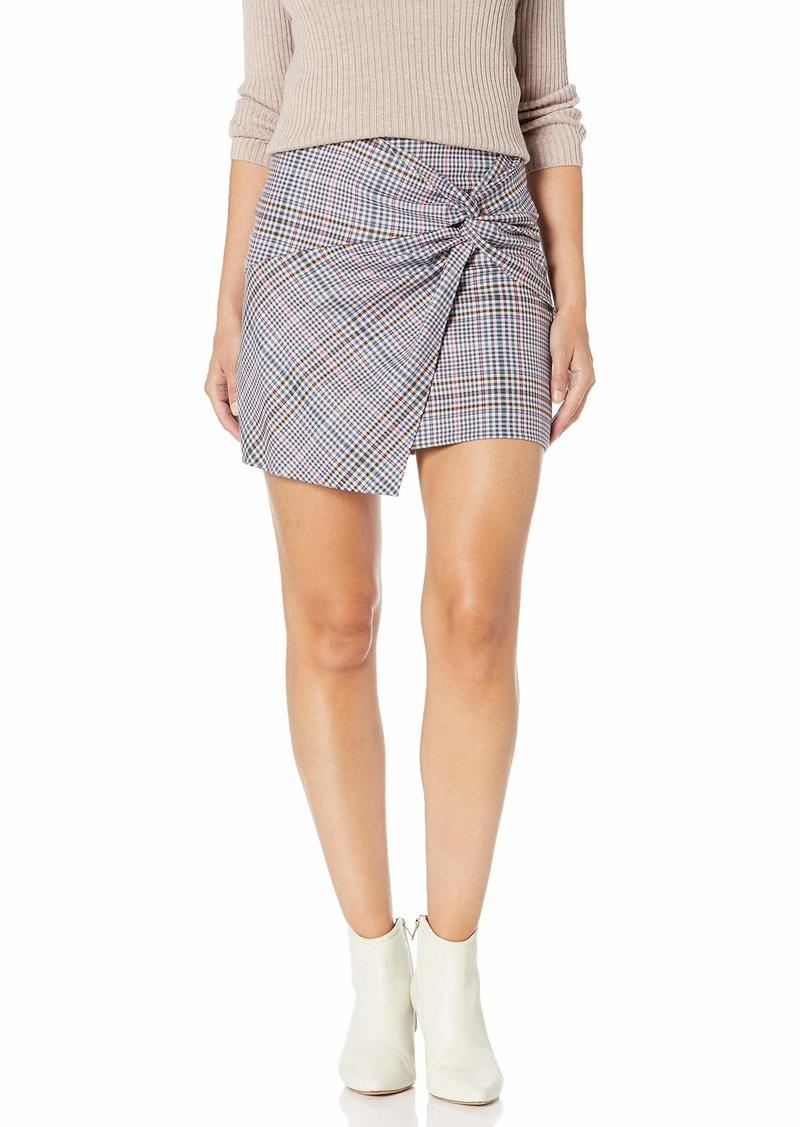 Parker Women's Montaigne Twist Front Mini Skirt