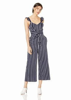 Parker Women's Myers Flutter Sleeve Cropped Wide Leg Jumpsuit