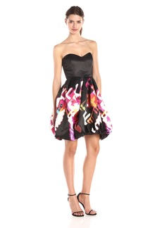 Parker Women's Remi Strapless Fit and Flare Dress