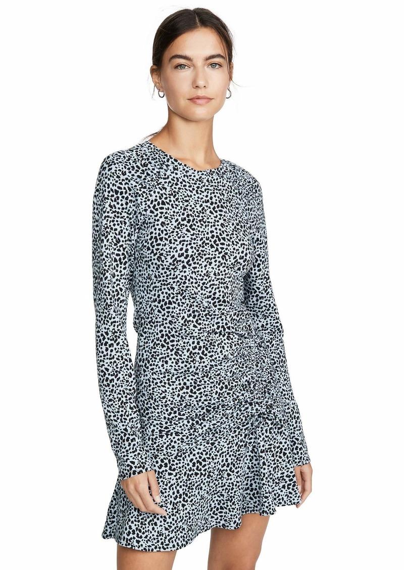 Parker Women's Rhea Long Sleeve Ruched Dress Arctic spot
