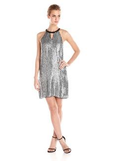 Parker Women's Sansa Sequin Halter Dress