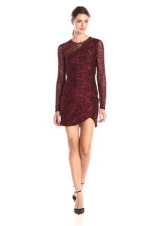 Parker Women's Shadow Lace Long Sleeve Combo Dress