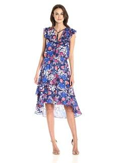 Parker Women's Sistine Combo Dress rosebay S